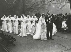 drama.  The wedding of Nancy Beaton and Sir Hugh Houston Smiley, 3rd Bt.  18th January 1933.