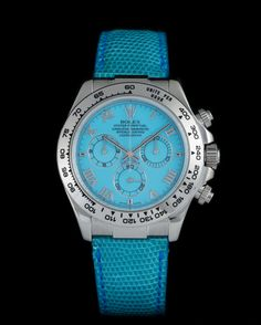Rolex Daytona beach turquoise sodalite 18 kt white gold - Vintage Watches Milano