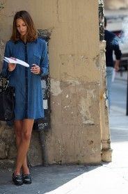 On the Street…..The Student on Rue des Rosiers, Paris