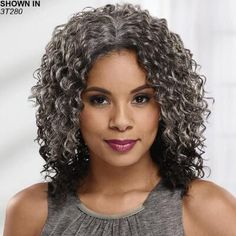 Natural Curls with Curtain Bangs and Highlights - 20 Chicest Hairstyles for Thin Curly Hair – The Right Hairstyles - The Trending Hairstyle Thin Curly Hair, Natural Wavy Hair, Short Straight Hair, Curly Hair Styles, Natural Hair Styles, Diahann Carroll, Short Hairstyles For Women, Straight Hairstyles, Female Hairstyles