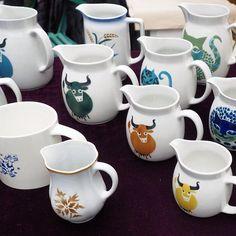 Arabia Finland Kitchenware, Tableware, Instagram Widget, Vintage Cups, Kettles, Marimekko, Pottery Ideas, Handmade Pottery, Scandinavian Design