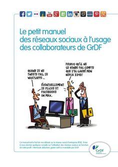 Charte utilisation des réseaux sociaux de GrDF