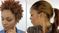 How To: Quick Weave With HIGH PONYTAIL! (On Natural Hair) [Video]  Read the article here - http://www.blackhairinformation.com/video-gallery/quick-weave-high-ponytail-natural-hair-video/