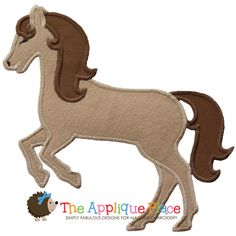 Horse 2 Machine Embroidery Applique Design by TheAppliquePlace, $3.00