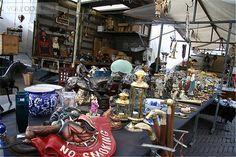 Mo-Sa 9-17 - Flea Market Waterlooplein, Amsterdam