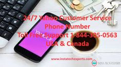 Call 24/7/365 Yahoo customer service phone number 1-844-305-0563 for all time…