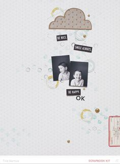 Be Happy *MKO* by lifelovepaper at @studio_calico