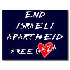 Free Gaza, stop Zionism
