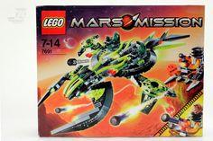 Lego 7691 MARS MISSION OVP / Space Alien  - cyan74.com - vintage & pop culture