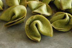 franish nonspeaker: Green Tea Fortune Cookies