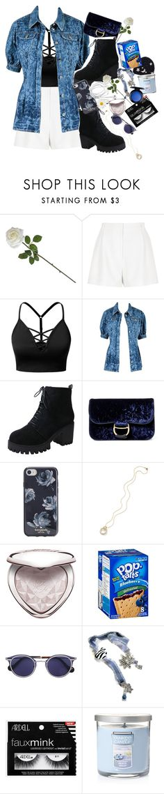 """❁ deeper than oceans, the sweetest devotion ❁"" by thaniahjcat ❤ liked on Polyvore featuring River Island, J.TOMSON, Chanel, Polo Ralph Lauren, Kate Spade, Too Faced Cosmetics, Yankee Candle, MAC Cosmetics, black and Blue"
