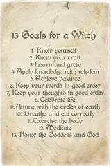 the 13 goals of a witch - Yahoo Image Search Results