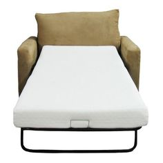 Clic Brands Memory Foam Sofa Mattress Replacement Bed By