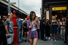 The Best and Fiercest Street Style from New York Fashion Week Spring 2 Photos   W Magazine
