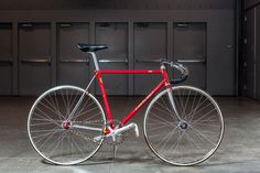 Straight from the track to the show, this bike from Cherubim is beyond full NJS, it is heading back into active keirin duty. Years after..
