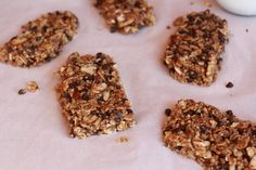 No-Bake Quinoa Crumble Bars