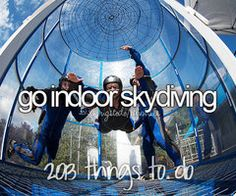 Bucket List. Before I die.