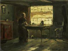 Farm Interior - Johan Hendrik Weissenbruch