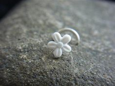 cute flower nose ring