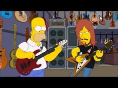 Homer Simpson play bass - YouTube