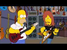 Homer Simpson play bass - YouTube