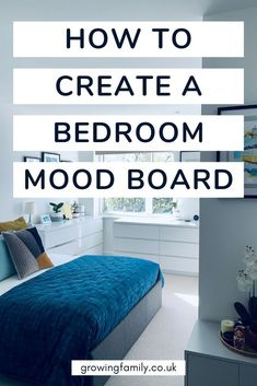Need a bedroom refresh? Follow these five simple steps to create a bedroom mood board and design the perfect look for your home. Fluffy Rug, Traditional Bedroom, A Whole New World, Metal Beds, Upholstered Beds, Staying Organized, Design Process, Mood, Create