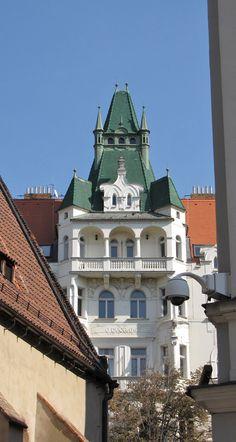 Houses of Pařížská street, Prague, Czechia