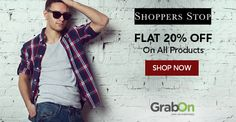 Shoppers, Now No Stopping For You. #ShoppersStop Offers Flat 20% Off. http://www.grabon.in/shoppersstop-coupons/ #SaveOnGrabOn