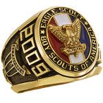 Personalize the golden siladium BSA Eagle Scout Award ring with your choice of engravings. This ring is officially licensed by the Boy Scouts of America. Eagle Scout Cake, Eagle Scout Gifts, Brownie Girl Scouts, Scout Mom, Girl Scout Swap, Girl Scout Leader, Eagle Scout Ceremony, Boy Scout Camping, Eagle Project