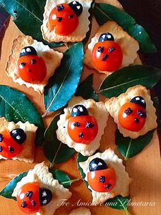 Aperi - Coccinelle Finger Food Appetizers, Finger Foods, Appetizer Recipes, Olive, Eat, Ethnic Recipes, Food Ideas, Change, Twitter
