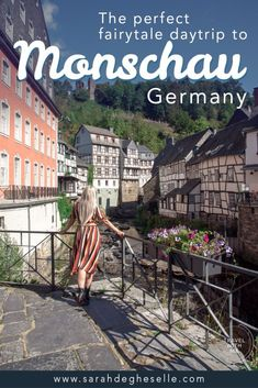 Take a step back in history and discover the fairy tale town of Monschau with its world famous half –timbered houses. Find everything you need to know for a perfect day trip to Monschau right here. Europe Destinations, Europe Travel Guide, France Travel, Travel Guides, Travel Info, Travel List, Travel Advice, Cities In Germany, Visit Germany