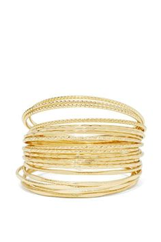 Stacks On Stacks Bangle Set