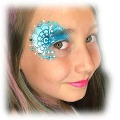 The Ultimate Frozen Face Painting Guide — Jest Paint Store Disney Face Painting, Princess Face Painting, Girl Face Painting, Body Painting, Face Painting Stencils, Face Painting Designs, Paint Designs, Rainbow Face Paint, Butterfly Face Paint