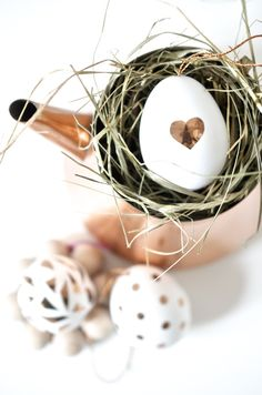 Copper Easter Eggs