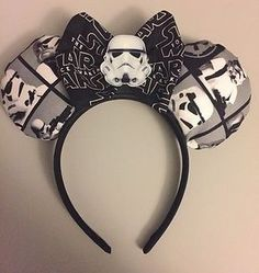 Disney Star Wars Storm Trooper Mickey Mouse Ears