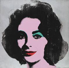 Andy Warhol, Silver Liz