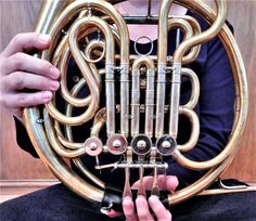 Helpful Horn Hints: Three Places to Oil French Horn Valves - Band Directors Talk Shop Mellophone, Brass Music, Sousaphone, Brass Instrument, Band Director, Homemade 3d Printer, French Horn, Band Pictures, Music Bands