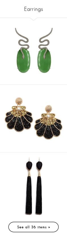 """""""Earrings"""" by cndystrpd ❤ liked on Polyvore featuring jewelry, earrings, handcrafted jewellery, holiday earrings, green jewellery, hand crafted jewelry, green jade jewelry, shell earrings, seashell earrings and shell jewelry"""