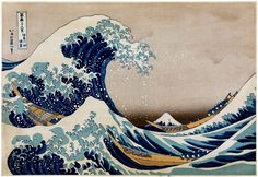 The Great Wave - Kanagawa.