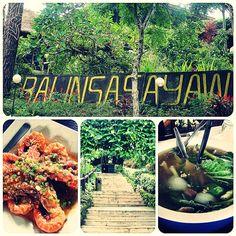 balinsasayaw garden type restaurant border siya ng silang and tagaytay