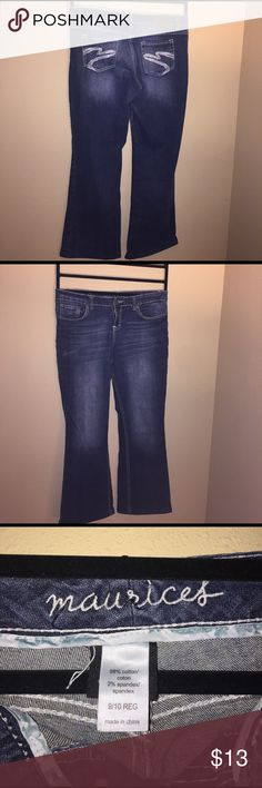 Maurice's Jeans 9/10 Beautiful Maurice's Jeans size 9/10 -30 long Maurices Jeans Straight Leg
