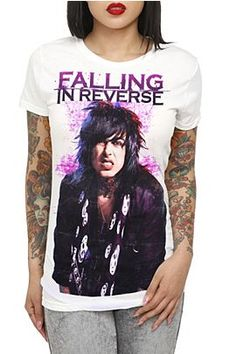falling in reverse shirt <3 i want this soo badly it has RONNIE ON IT!! *_* <333333
