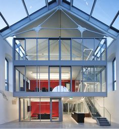 Ryan Structural Steel - Steel Design, Fabrication and Installation Dublin House, Ashford Castle, Roller Doors, Steel Structure, Plates On Wall, Innovation Design, Cladding, Second Floor, Steel Frame