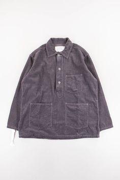 a63e86e20c Charcoal Grey Army Denim Shirt by Mountain Research – The Bureau Belfast  Metal Buttons, Belfast