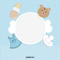 Scrapbook Bebe, Baby Boy Scrapbook, Baby Images, Baby Pictures, Father Cartoon, Album Baby, Pop Up Frame, Baby Shower Templates, Cute Baby Wallpaper