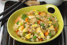 Vegetarian Egg Fried Rice - Kidney-Friendly Recipes - DaVita