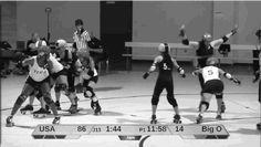 Juking #footwork #rollerderby — Juking Study: Loren Mutch (Mutch Mayhem)