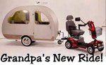 Grandpa's New Ride!