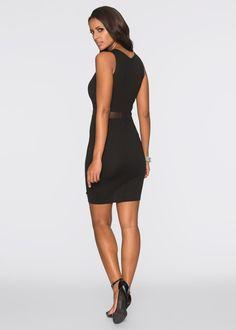 1a640f332f9d Kleid, BODYFLIRT boutique, schwarz Kleider, Boutique, Frisuren, Beauty, Mode ,