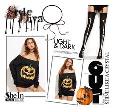 """""""SheIn 6/10"""" by smajicelma ❤ liked on Polyvore featuring Improvements, Sheinside, polyvoreeditorial and shein"""
